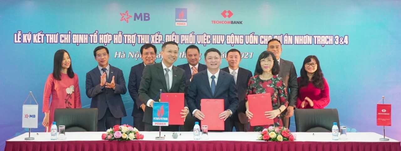 MB và Techcombank thu xếp vốn cho dự án điện khí LNG đầu tiên tại Việt Nam